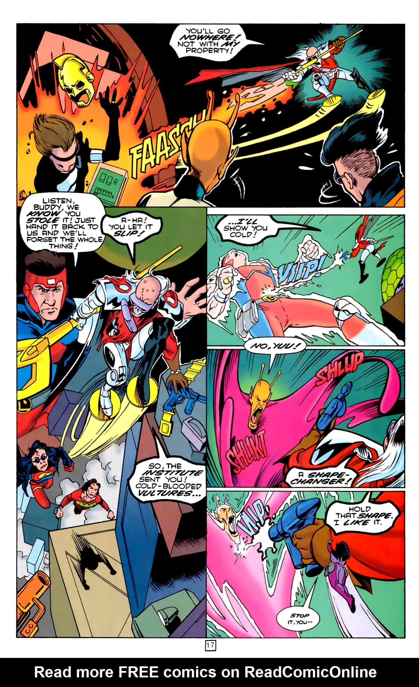 Legion of Super-Heroes (1989) 74 Page 17
