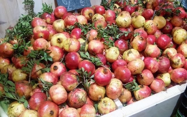 owoce granaty