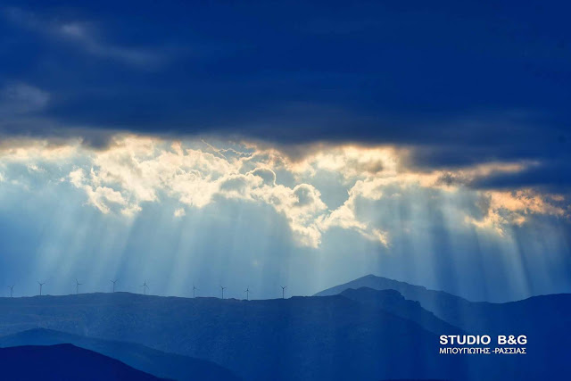 Η φωτογραφία της ημέρας: Σύννεφα και ήλιος