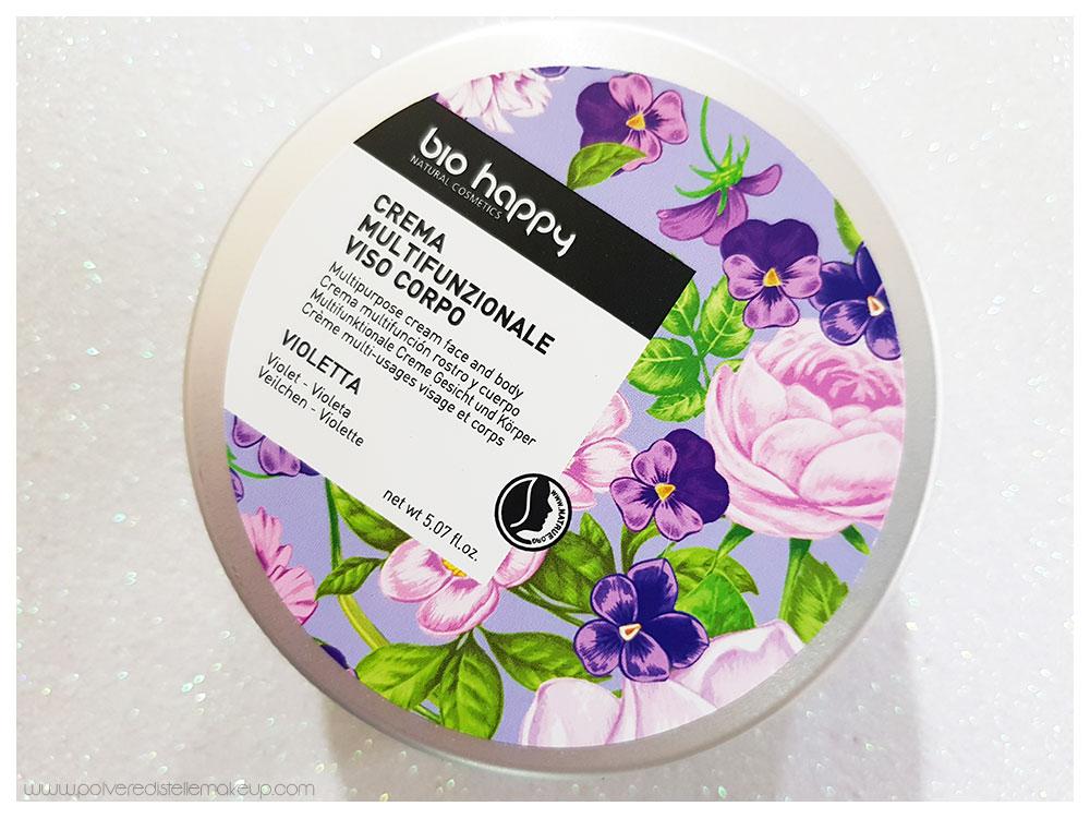 Crema Multifunzionale Viso Corpo Violetta Bio Happy
