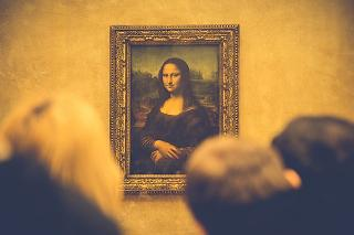 Museu quadro de Mona Lisa