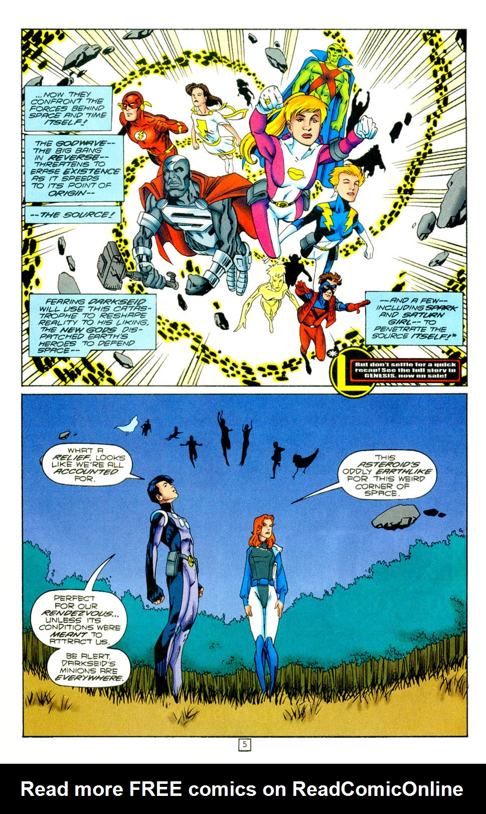 Legion of Super-Heroes (1989) 97 Page 4