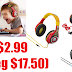 Mickey Mouse or Coco Kids' Headphones Only $2.99 (Reg $17.50) + Free Shipping