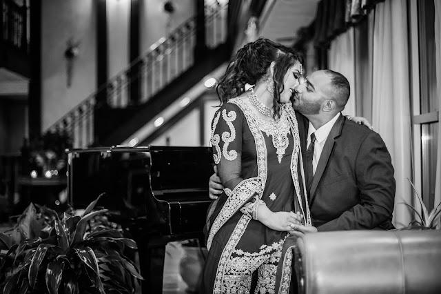 Grand finale, romantic feelings envelops the newlywed