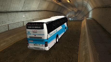 Daewoo Coach Bus in GTA San Andreas Pakistan