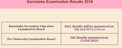 Karnataka SSLC 10th Result 2019,Check Results on official website KSEEB kseeb.kar.nic.in