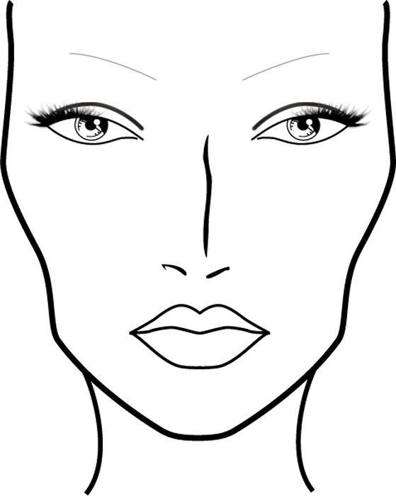 creator_makeup: رسومات للوجه لتطبيق المكياج عليها