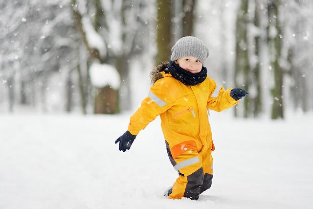 Cum imbracam copiii iarna