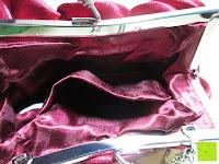 innen: Sumolux Elegante Handtasche Tasche Partytasche Abendtasche Tasche für Frauen Tasche für Damen Weinrot