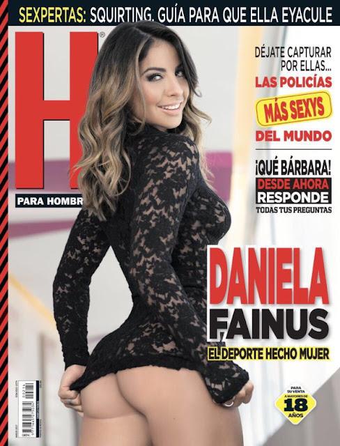 Daniela Fainus Revista H Marzo 2017 portada