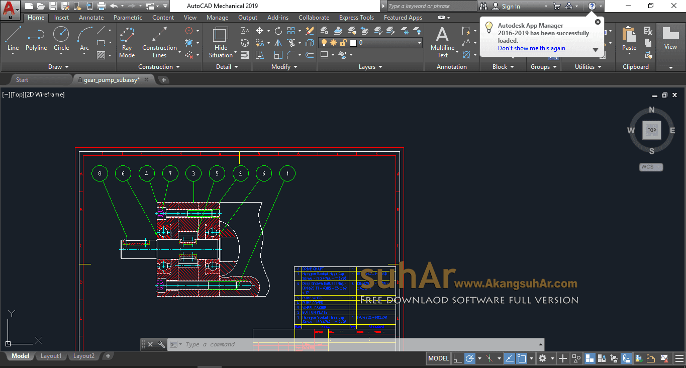 Free Download Autodesk AutoCAD Mechanical 2019 Full Serial Number