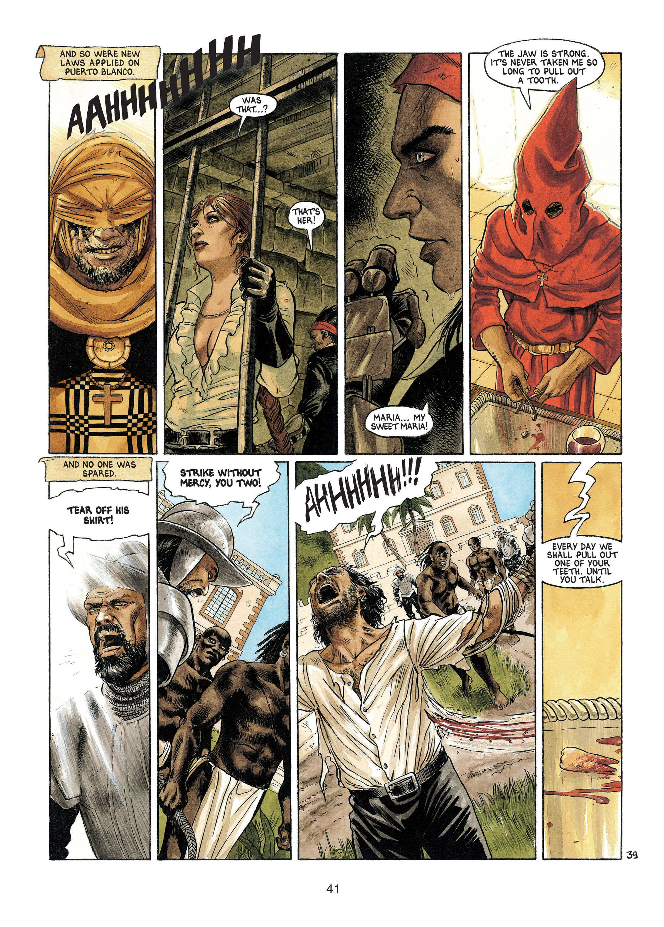 Read online Barracuda comic -  Issue #4 - 42