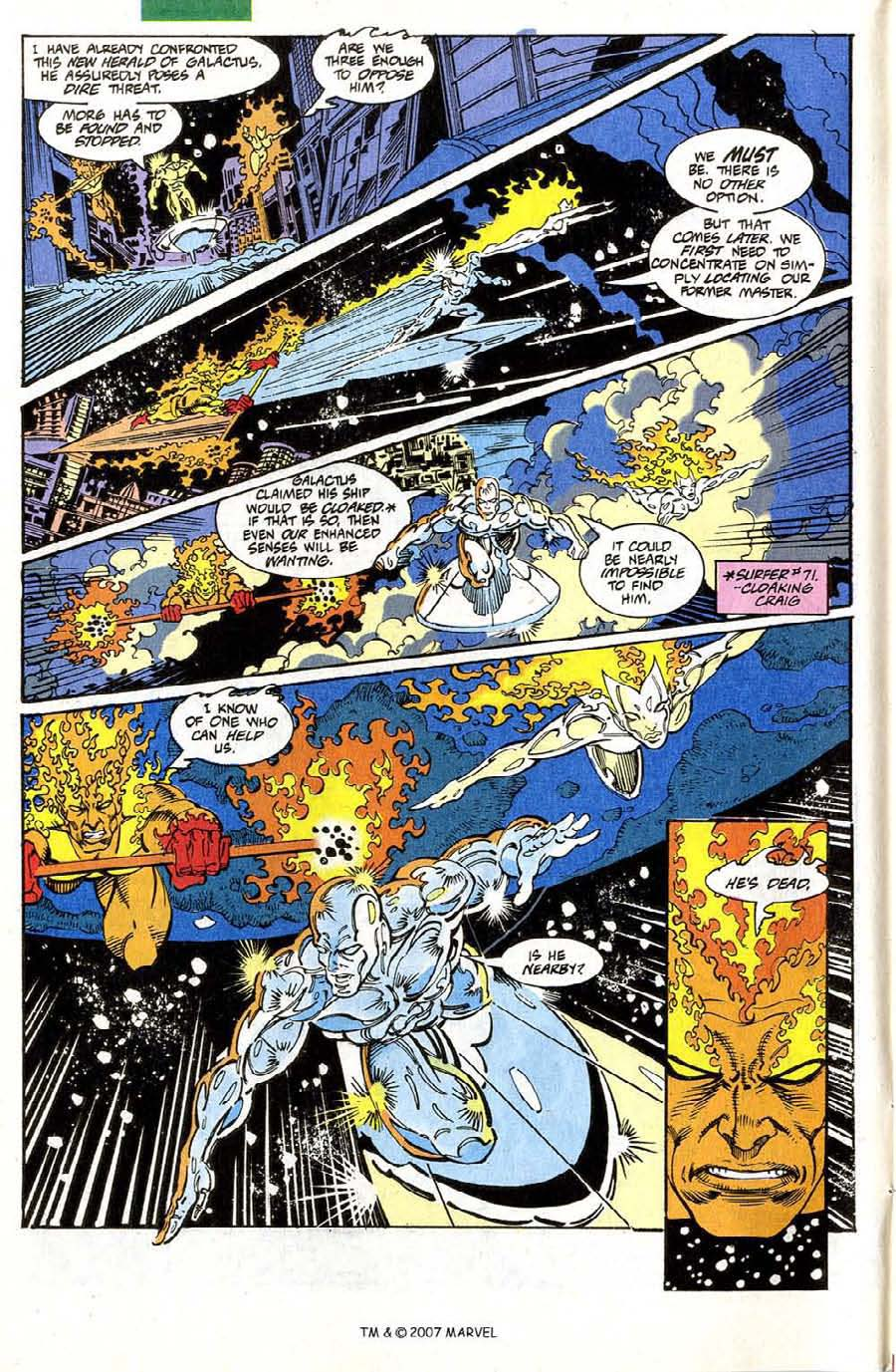 Read online Silver Surfer (1987) comic -  Issue #73 - 6