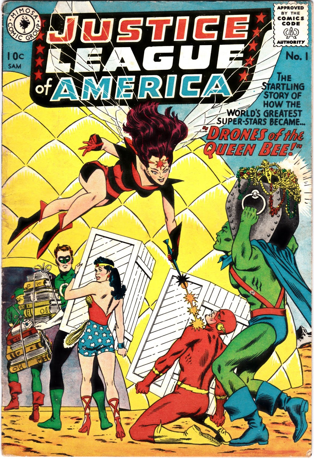 Justice League of America Newspaper Strip: Chapter 79 ... |Justice League Comic Strip