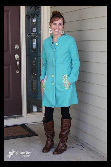 Fleece Jacket Simplicity 2812