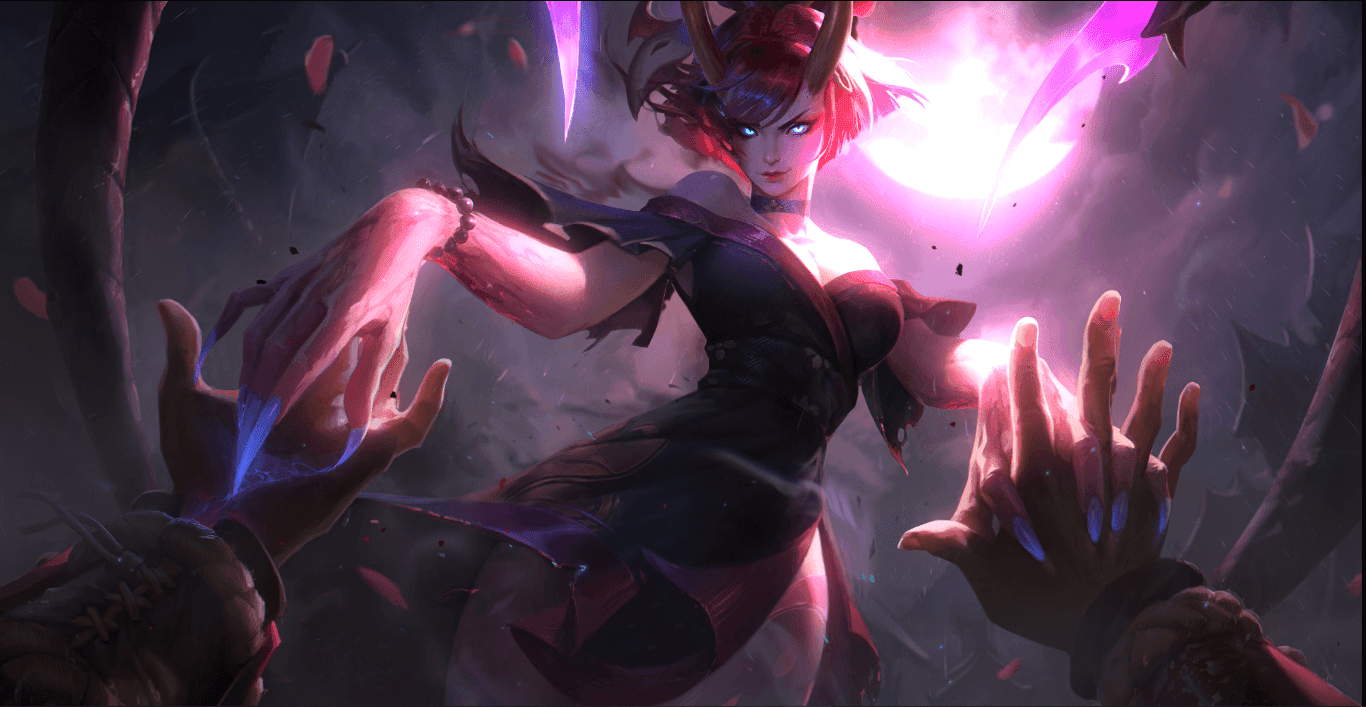 Blood Moon - Evelynn [Wallpaper Engine Free]