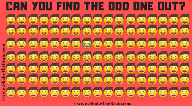 In this Picture Puzzle to find Odd One Out, your challenge is to find the odd one out