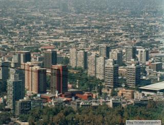Santiago vista do Cerro San Cristobal