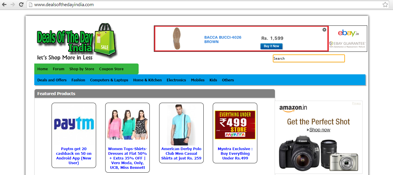 Online shopping deals india