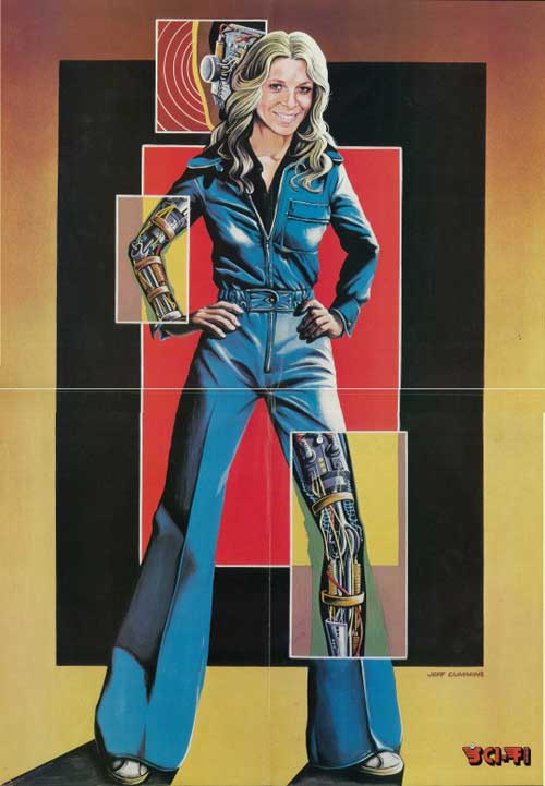 space1970: Bionic Pin-Ups by Jeff Cummins