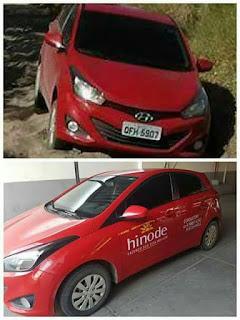 Casal tem carro roubado durante sequestro relâmpago em Nova Palmeira; vítimas foram deixas na estrada