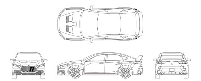 2018 Mitsubishi Lancer Evolution Redesign, Change, Engine Specs, Price, Release Date