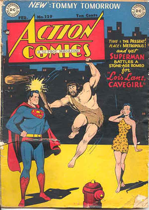 Read online Action Comics (1938) comic -  Issue #129 - 1