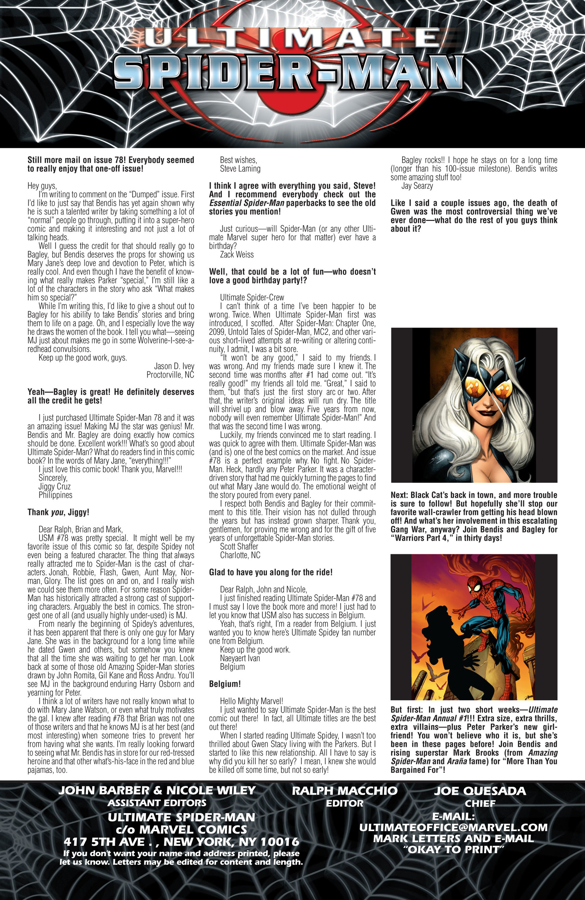 Read online Ultimate Spider-Man (2000) comic -  Issue #81 - 19