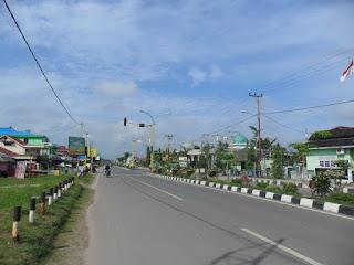 Sudut Kota Penajam. Foto