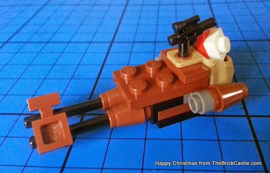 The LEGO Star Wars Advent Calendar Day 19 speeder sledge