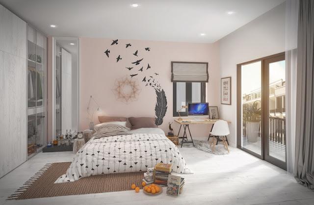 phòng ngủ liền kề mon bay