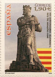900 ANIVERSARIO ALFONSO I, REY DE ARAGÓN (1104)