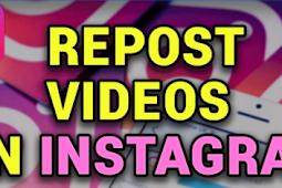 Video Repost Instagram