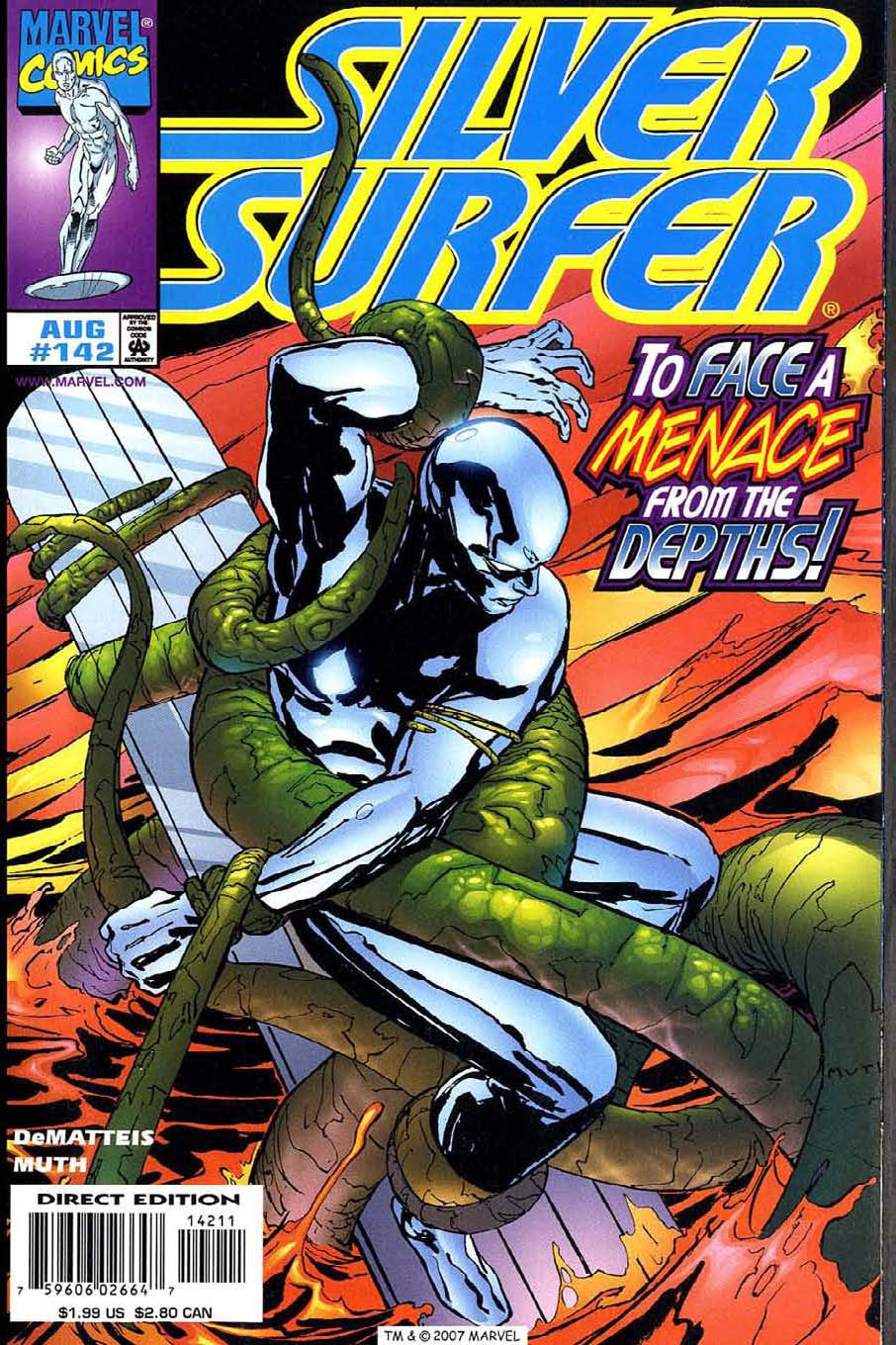 Read online Silver Surfer (1987) comic -  Issue #142 - 1