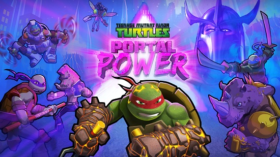 Free Download Teenage Mutant Ninja Turtles: Portal Power PC Game