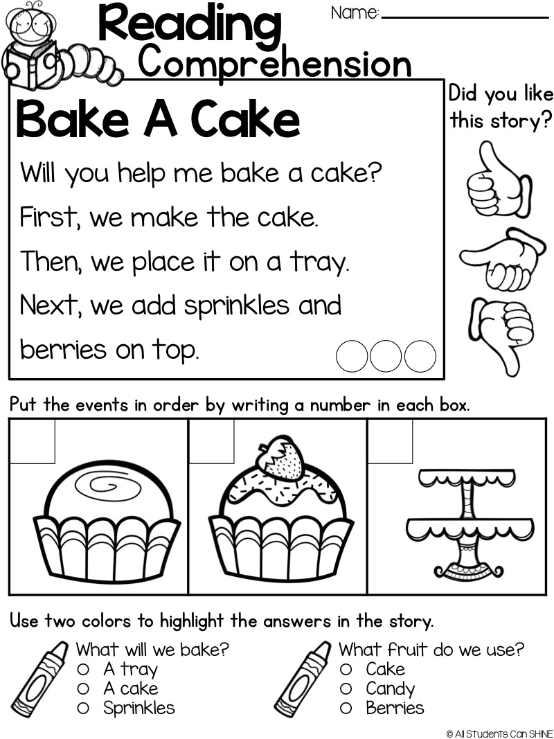 Reading Resources FREEBIE All Students Can Shine