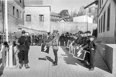 Recuerdo nazi en la sierra de Madrid