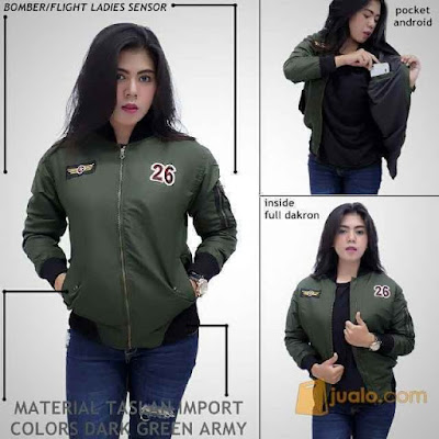 jaket hoodie wanita terbaru