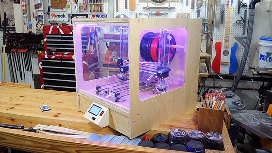 3D Printer Enclosure by The Carmichael Workshop