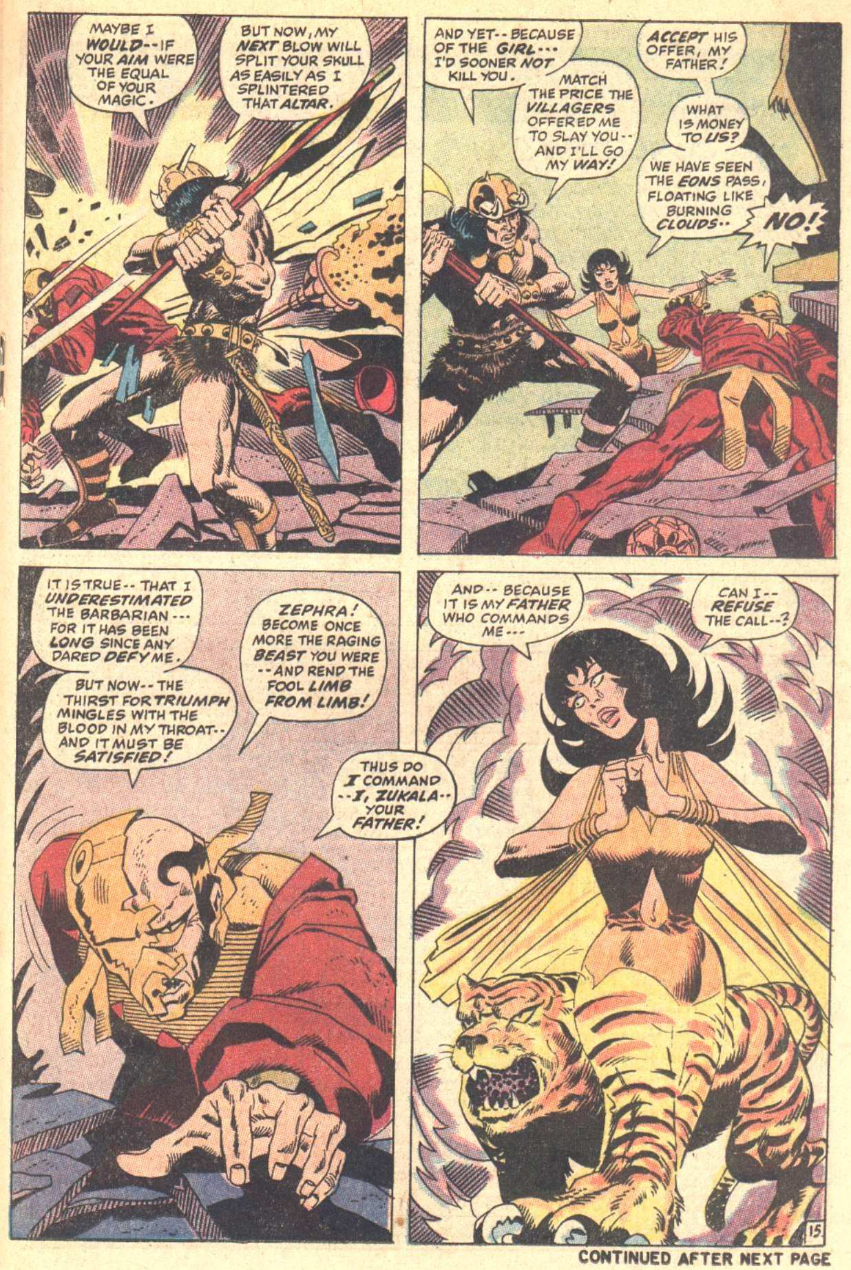 Conan the Barbarian (1970) Issue #5 #17 - English 16