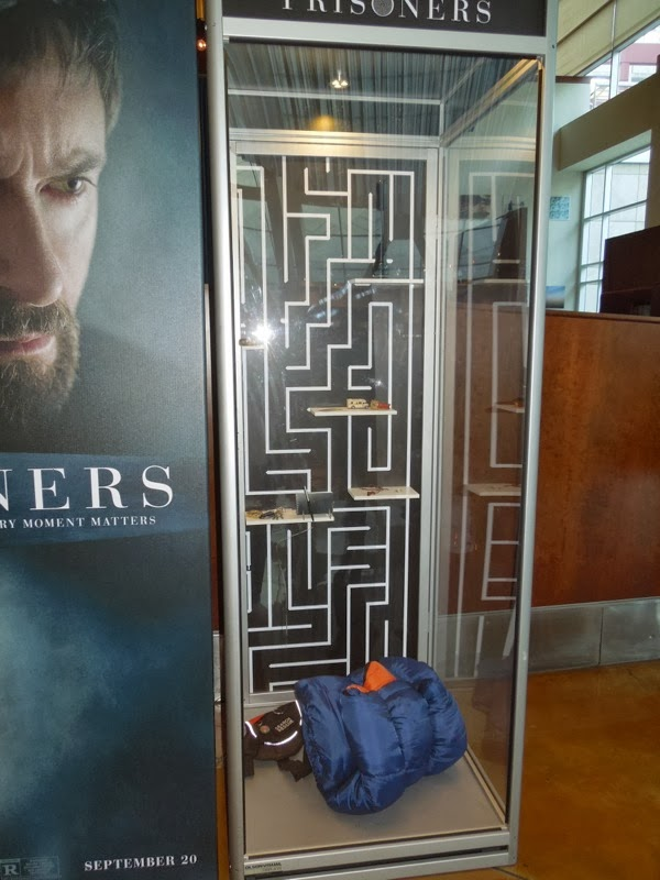 Prisoners movie prop exhibit