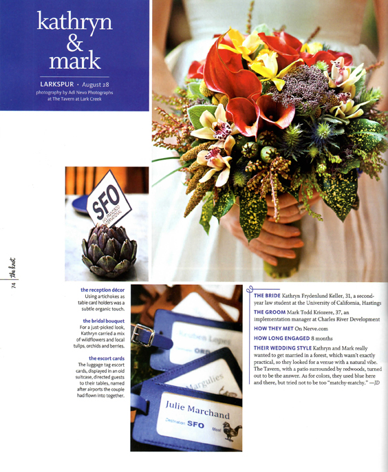 Adi Nevo Photographs: Real Wedding: The Knot: Northern