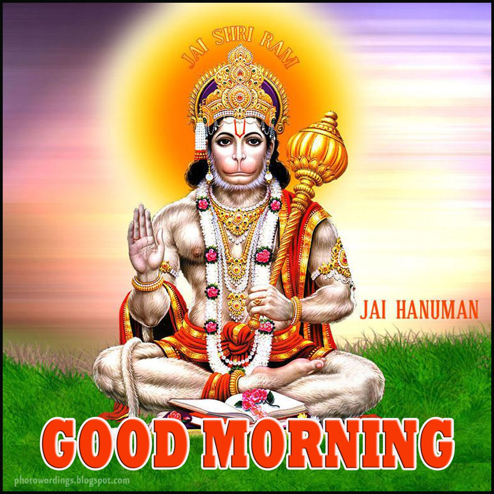 Best Good Morning Happy Saturday Hanuman Images - HD Greetings Images