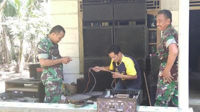 Muh Irham tekuni Servis Elektronik, Tak lepas peran dari Banbinsa Koramil/09 Pituruh