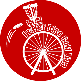 Disc Golf für CliniClowns - Prater Liga Sticker