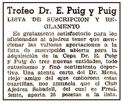 Recorte de El Mundo Deportivo, 28 de marzo de 1941