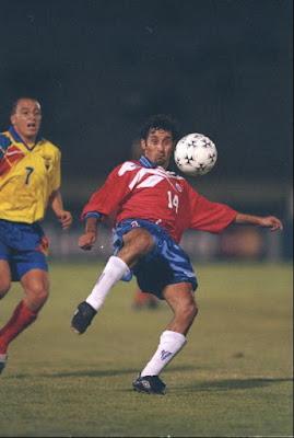 Chile y Ecuador en Copa América 1997, 17 de junio