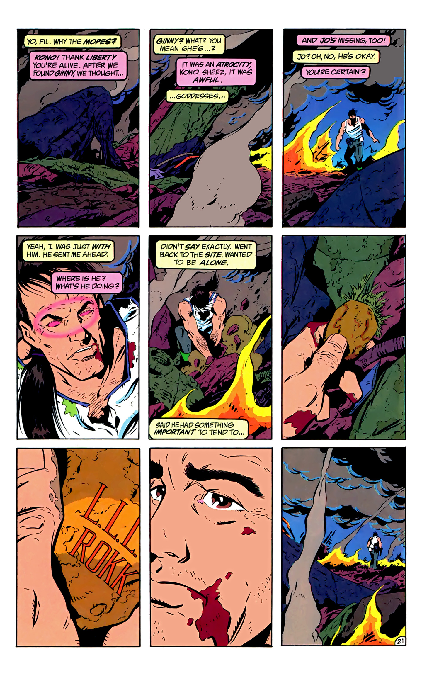 Legion of Super-Heroes (1989) 2 Page 22