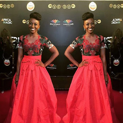 Kate Henshaw AMVCA 2016 Red carpet