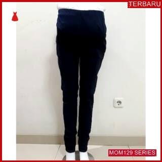 MOM129C7 Celana Hamil Jeans Pensil Denim Celanahamil Ibu Hamil